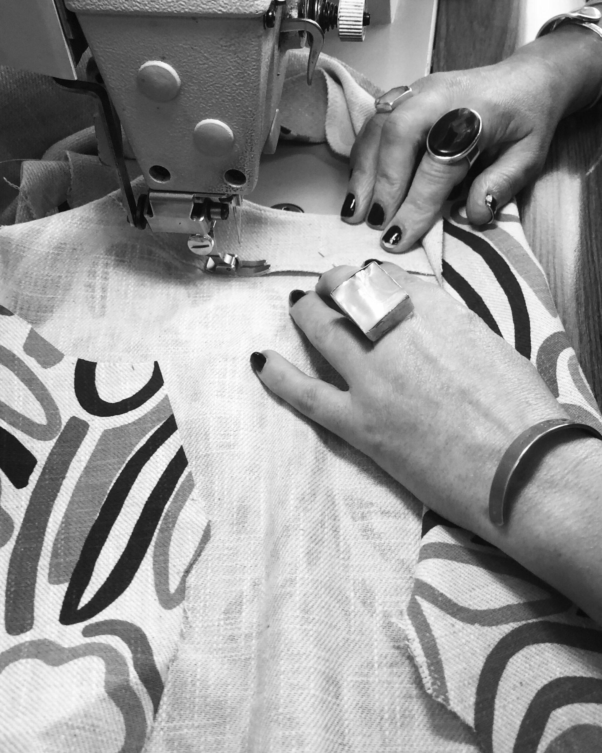 neroli making dress