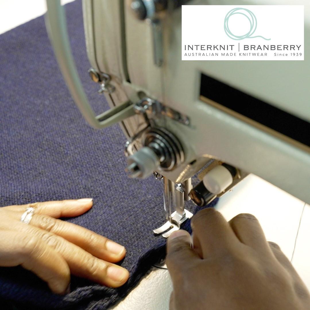 SQUARE Jummy hands only plain sewing Ballarat Interknit